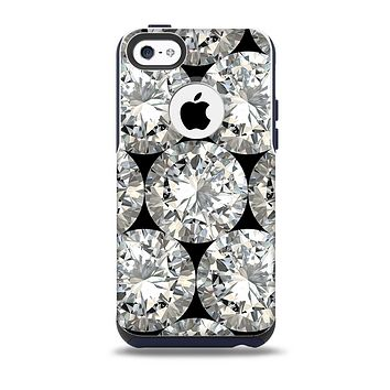 The Diamond Pattern Skin for the iPhone 5c OtterBox Commuter Case
