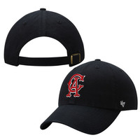 '47 Brand California Angels Navy Blue Cooperstown Collection Basic Logo Cleanup Adjustable Hat