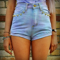 Cryptic Cult — 'Pastel Cupcake' studded shorts