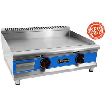 """Commercial Kitchen Countertop Economy Gas Griddle 30"""""""