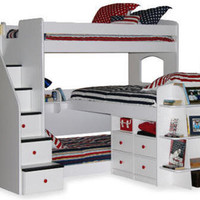 Stairway Triple Decker Devon Bed