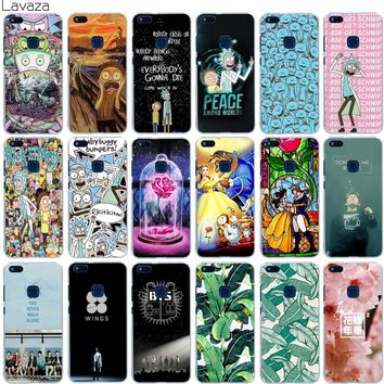 Lavaza Rick and Morty Bts Bangtan Boys Beauty And The Beast Banana Case for Huawei Mate 10 P8 P9 P10 Lite Pro Mini 2017