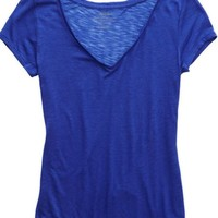 Aerie Women's Basic V-neck T-shirt