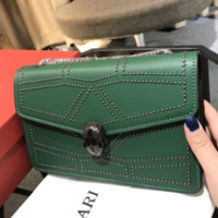 Bulgari New stylish women shoulder bag Green