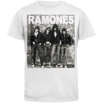 CREYON Ramones - Wall Photo T-Shirt