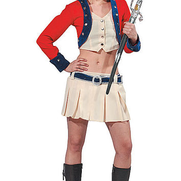 Womens Colonial Soldier Costume