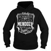 Your name is Mendoza you're pretty damn close Hoodie