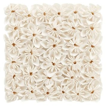 White Floral Wall Decor