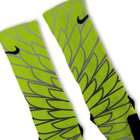 Wings 3 Custom Nike Elite Socks