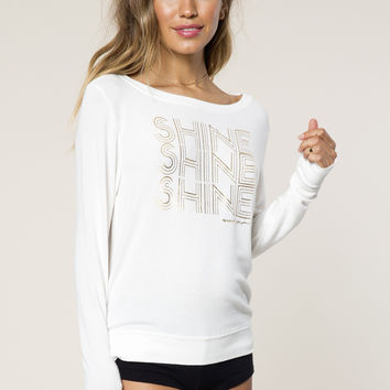 Triple Shine Savasana Pullover