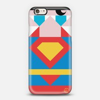 Simple Superman iPhone 6 case by Simple People | Casetify