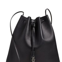 Saint Laurent 'Medium Jen' Calfskin Bucket Bag | Nordstrom