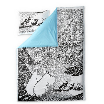 Moominsummer Madness duvet cover set 150 x 210 cm by Finlayson