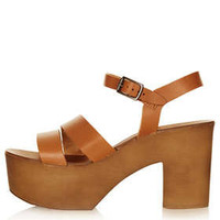 NELSON Chunky 2 Part Sandals - Heeled Sandals - Heels  - Shoes