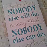 That is a Nurse wooden sign by Dressingroom5