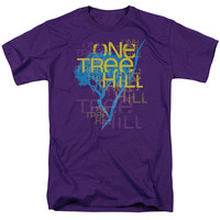 ONE TREE HILL/TITLE - S/S ADULT 18/1 - PURPLE -