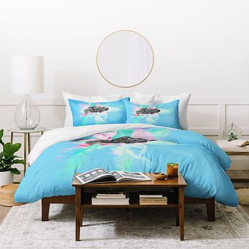 Ceren Kilic Connected Edges Duvet Cover