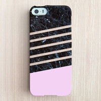 iPhone 6 Case, iPhone 6 Plus Case, iPhone 5S Case, iPhone 5 Case, iPhone 5C Case, iPhone 4S Case, iPhone 4 Case - Marble Dip Light Pink