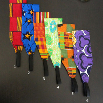 African Ankara Fabric Headband