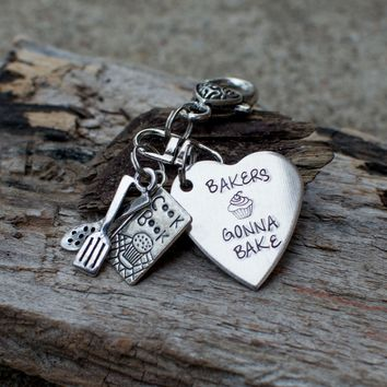 Bakers Gonna bake Keychain by Heel Lilies