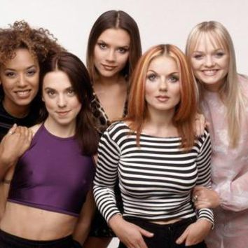 Spice Girls Poster Standup 4inx6in