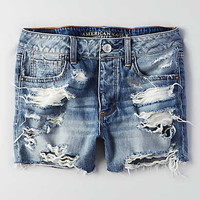 AEO Tomgirl Short, Medium Tinted Destroy