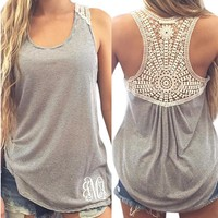 One Piece Summer Women Print Shirts Cotton   Sleeve Sports Tops Blouse = 5988198785