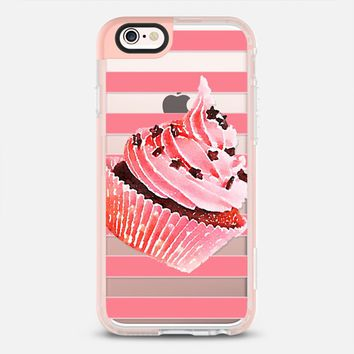CUPCAKE IN STRIPES - IPAD CASE iPhone 6s case by Nika Martinez | Casetify
