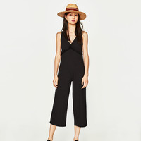 RIBBED JUMPSUIT DETAILS