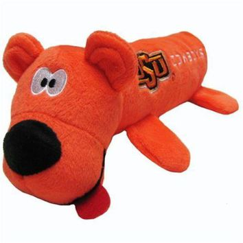 PEAPYW9 Oklahoma State Cowboys Plush Tube Pet Toy