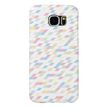 Colorful Abstract Pastels Samsung Galaxy S6 Case