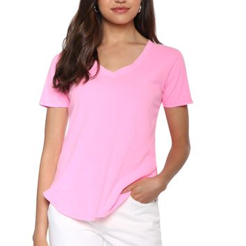 Z Supply the Neon V-neck Tee