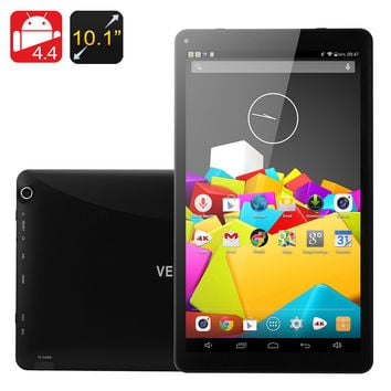 Venstar 8050 10.1 Inch Tablet - Android 4.4, Octa Core CPU, 1GB RAM, 16GB Memory, OTG, 5500mAh Battery