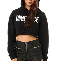 Dimepiece LA The Dimepiece Cropped Hoody : Karmaloop.com - Global Concrete Culture