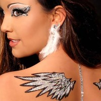 Xotic Angelic Wings Kit : Colorful Eye Makeup and Stickers from RaveReady