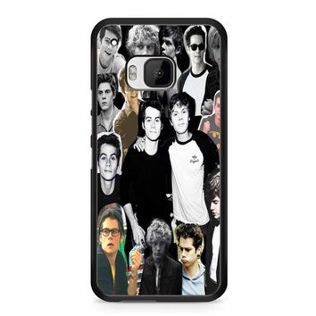 Evan Peters Collage 2 HTC M9 Case