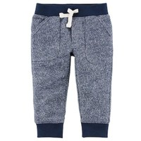 DCCKX8J Baby Boy Carter's Marled French Terry Pants | null