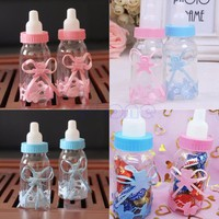 1 Baby Shower Baptism Christening Birthday Gift Party Favors Candy Box Bottle