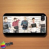 The Wanted Are Wanted Custom iPhone 4 or 4S Case Cover