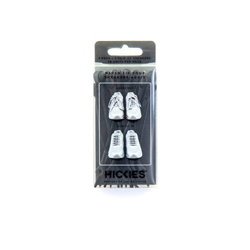 The Original HICKIES 1.0 Unisex One-size Fits All Elastic No-Tie Shoelaces For All Types Of Shoes Black '