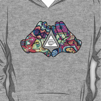 Mickey Mouse Diamond Illuminati (Trippy) Hoodie (Pullover)