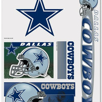 "Dallas Cowboys 11""x17"" Ultra Decal Sheet"
