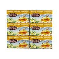 Celestial Seasonings Honey Vanilla Chamomile Herb Tea (1x20 Bag)