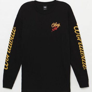 VONE05W OBEY Careless Whispers Long Sleeve T-Shirt