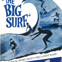 The Big Surf 11x17 Movie Poster