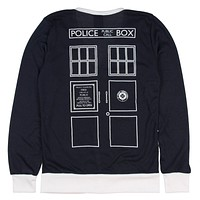 Doctor Who Her Universe Union Jack TARDIS Cardigan