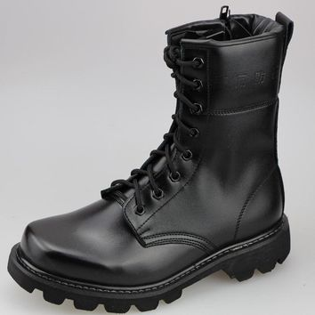 Hot Deal On Sale Outdoors Winter Leather Boots [118134603801]