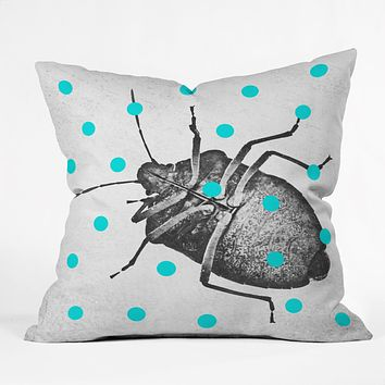 Elisabeth Fredriksson Little Stinkbug Throw Pillow