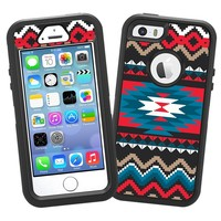 "Folk Tribal ""Protective Decal Skin"" for OtterBox Defender iPhone 5s Case"