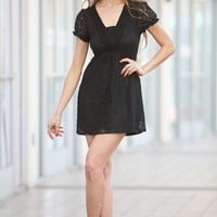 Lace Black Dress    - Diva Hot Couture
